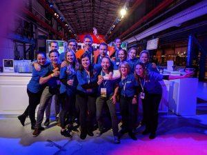 JCI Utrecht in actie op het Wereldcongres in 2017 in Amsterdam